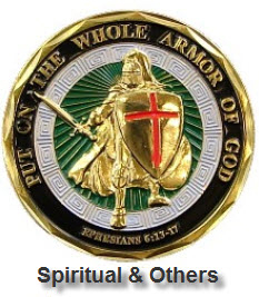 Challenge Coins - Spiritual and Other
