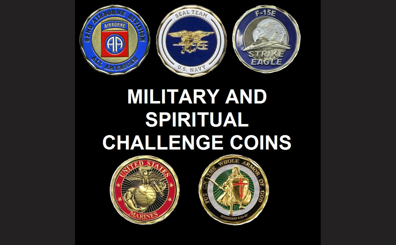 Military and Spiritual Challenge Coins