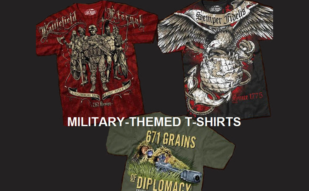 Military-Themed T-Shirts
