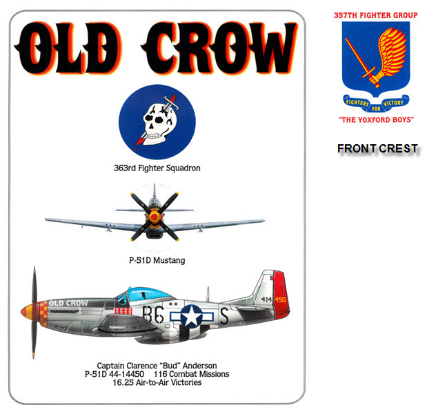 P-51 Mustang - Old Crow - 357th Fighter Group