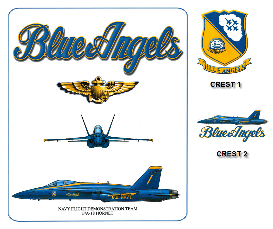 Blue Angels - F-18 Hornet