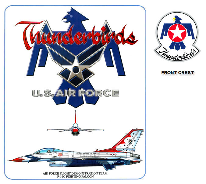 Thunderbirds - F-16 Fighting Falcon
