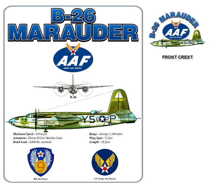 B-26 Army Air Forces