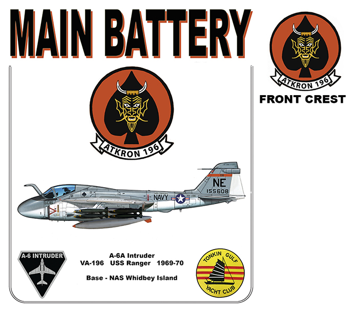 A-6A Intruder - VA-196 Main Battery