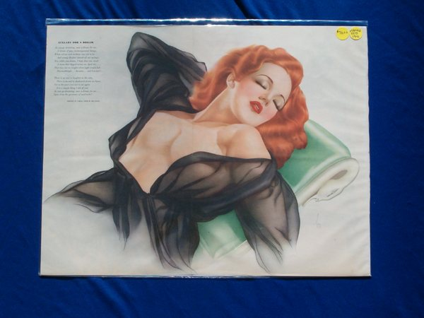 Esquire Gatefold - Lullaby For A Dream