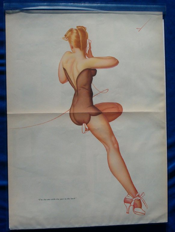 Esquire Gatefold - Memphis Belle