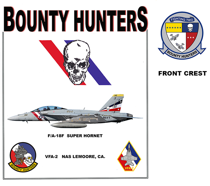 F/A-18E Super Hornet - Bounty Hunters