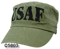 Cap - Air Force OD Retro Flat Top