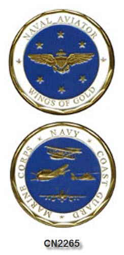 Challenge Coin - US Navy - Wings of Gold