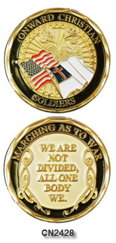 Challenge Coin - Spiritual - Onward Christian Soldiers