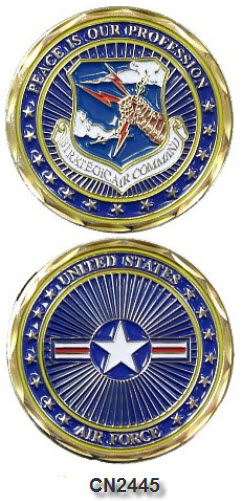 Challenge Coin - USAF - Strategic Air Command