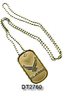 Dog Tag - Air Force Service Emblem