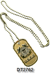 Dog Tag - Coast Guard Service Emblem