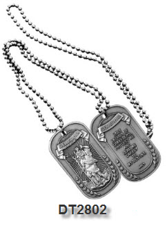 Dog Tag - St. Christopher