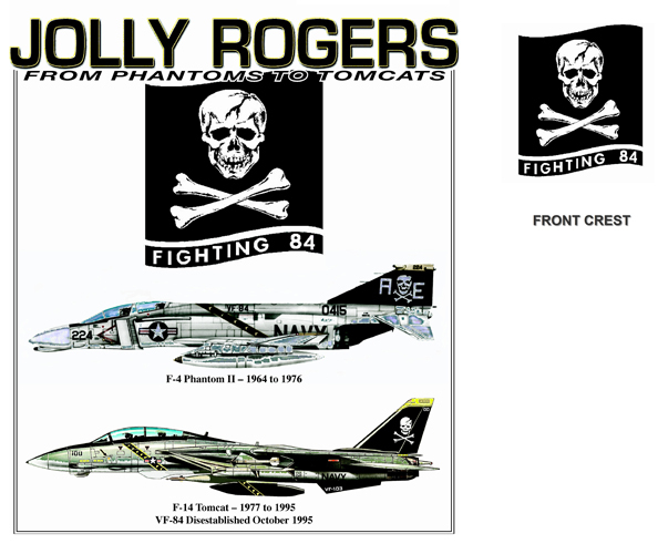 Jolly Rogers Transition - F-4 to F-14