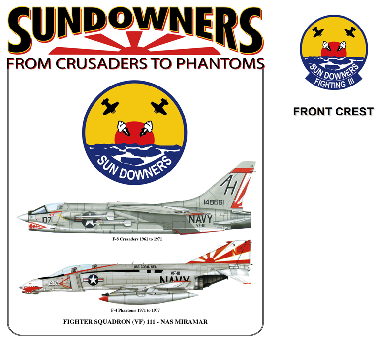Sun Downers Transition - F-8 to F-4