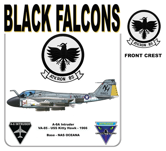 A-6A Intruder - VA-55 Black Falcons