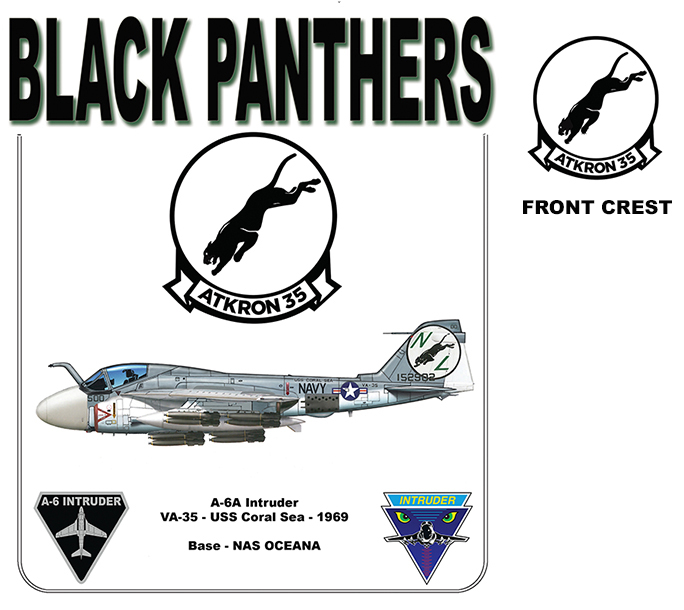 A-6A Intruder - VA-35 Black Panthers